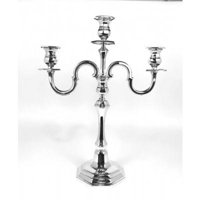 Candeliere arg.800 stile moderno, usato