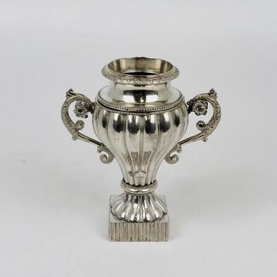 Coppetta indiana in argento, d'epoca fine '800, primi '900, usata.