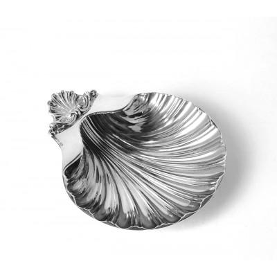 Posacenere argento 800 usato forma conchiglia