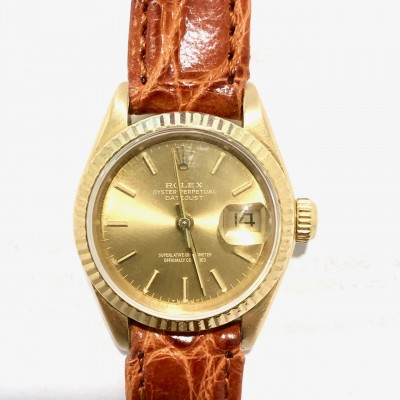 Orologio Rolex Lady Date Just oro usato