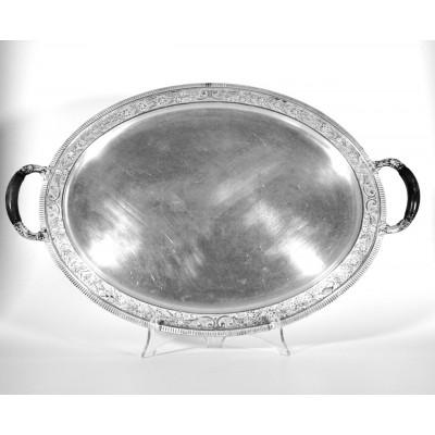 Vassoio in argento 800 d'epoca