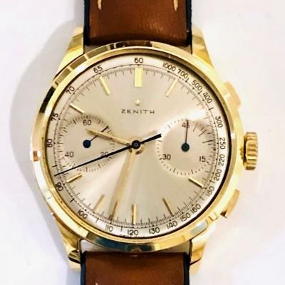 Orologio  usato Zenit Cronografo in  oro