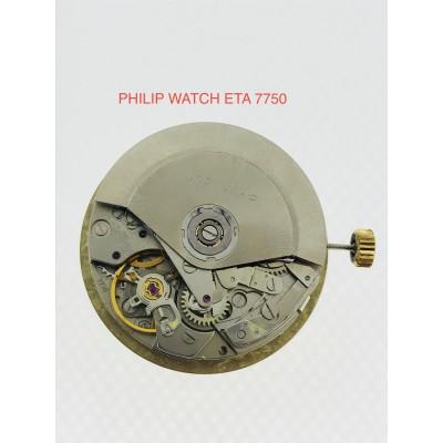 MECCANISMO USATO  PHILIP WATCH  ETA 7750