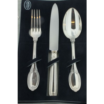 Coppia di set di posare in argento Gianmaria Buccellati (