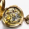 Orologio Tasca Crono e ripetizione ore ,mezzore, quarti in oro 14 kt usato