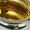 Zuccheriera centrotavola argento 800 usata bollo 41MI stile antico