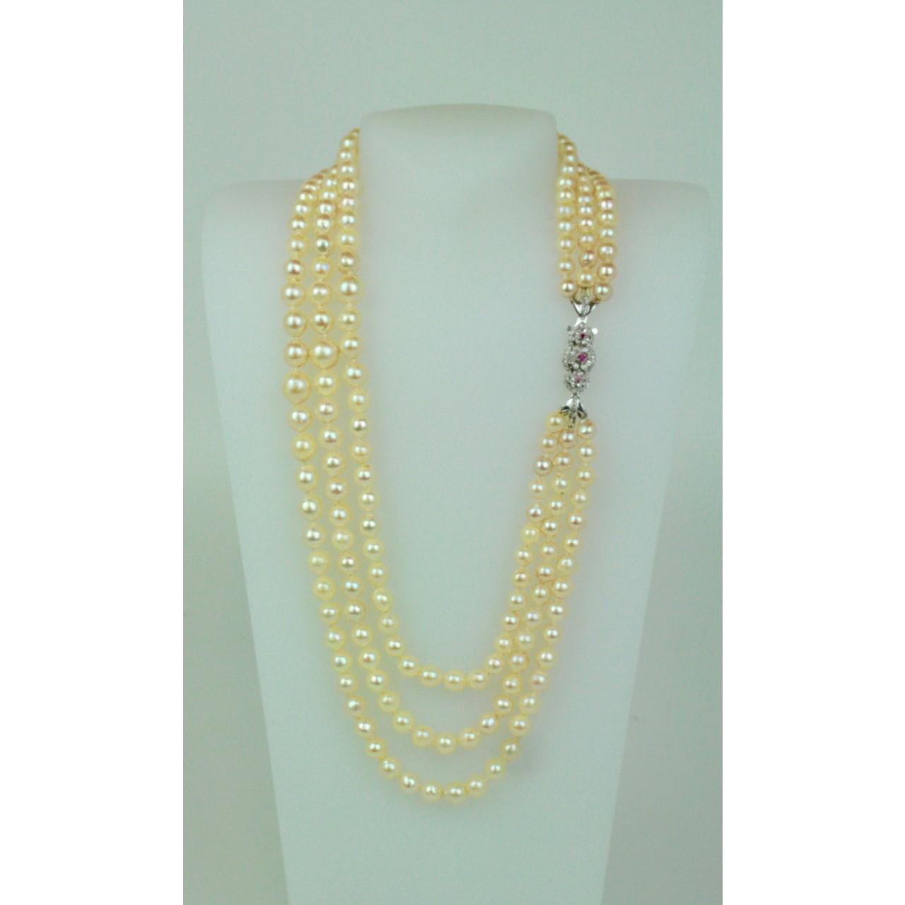 collier de perles du japon