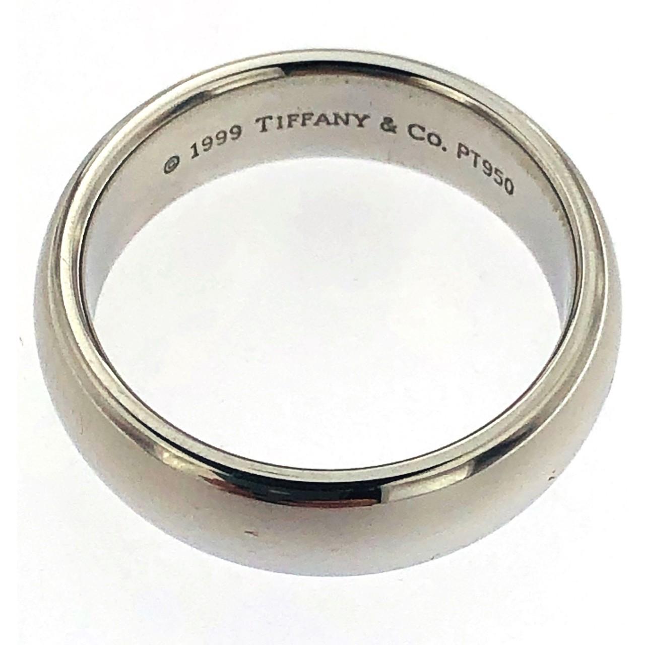 le dernier 20c45 a8a01 Bague en platine de marque Tiffany 1999 Tiffany & Co